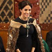 Meghan Markle fica descalça e ganha traje neozelandês para proteger gravidez