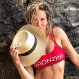 Giovanna Ewbank aproveitou Fernando de Noronha sem maquiagem