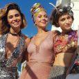 Carnaval dos Falcão! Elenco de 'Segundo Sol' grava final em cima de trio na terça-feira, dia 06de novembro de 2018