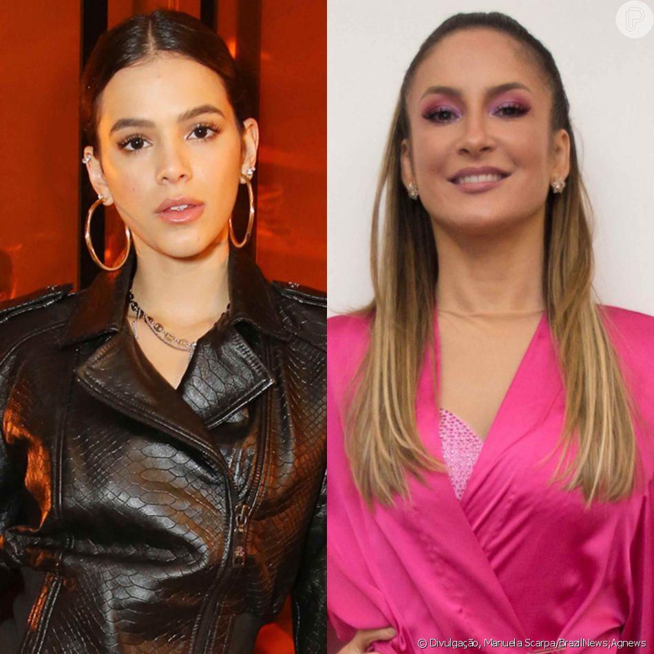 Bruna Marquezine defende Claudia Leitte após polêmica com Silvio Santos com  post nessa segunda-feira 1362d20d40