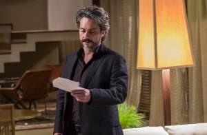 Novela 'Império': José Alfredo se recusa a fazer exame de DNA com Cristina