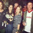 No Instagram, Heloizia postou foto com uma barriguinha supeita