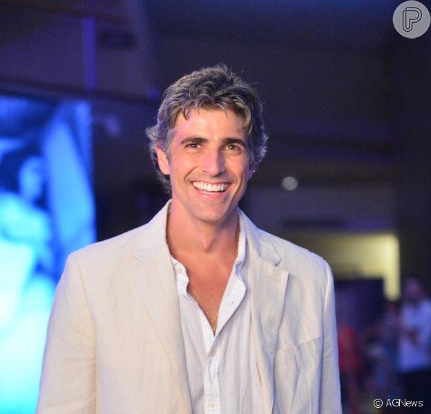 Reynaldo Gianecchini quer muito ser pai. 'Mas não será dessa vez', garante a assessoria de imprensa do ator