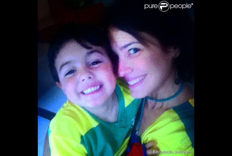 Matheus, filho de Juliana knust, completa 4 anos nesta segunda-feira, dia 8 de setembro de 2014