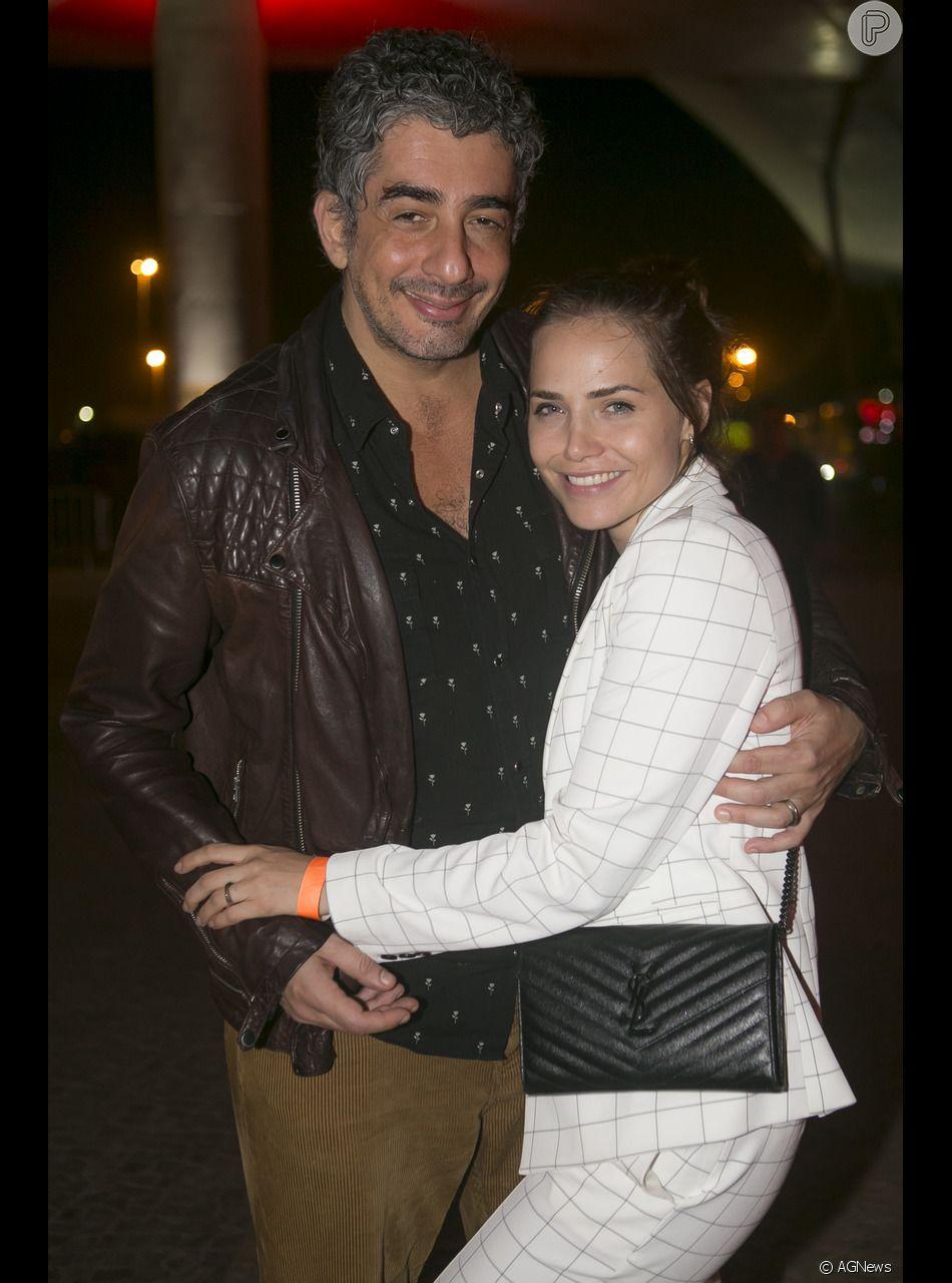 Casada com Michel Melamed, Leticia Colin foi elogiada pelo ator em  entrevista - Purepeople