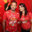 Em fevereiro de 2014, Kyra já curtiu grávida o carnaval na Marquês de Sapucaí, no Rio de Janeiro