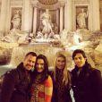 Em janeiro de 2014, o casal fez uma viagem romântica à Europa