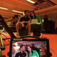 Malvino Salvador foi primeiro entrevistado de Kyra no quadro 'Vai pra luta com Kyra Gracie', exibido no programa 'Sensei SporTV', do a cabo Canal Campeão