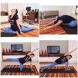Kyra Gracie também praticou ioga durante toda gestação