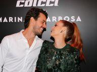 Marina Ruy Barbosa lança coleção de roupas e beija o marido. Fotos!