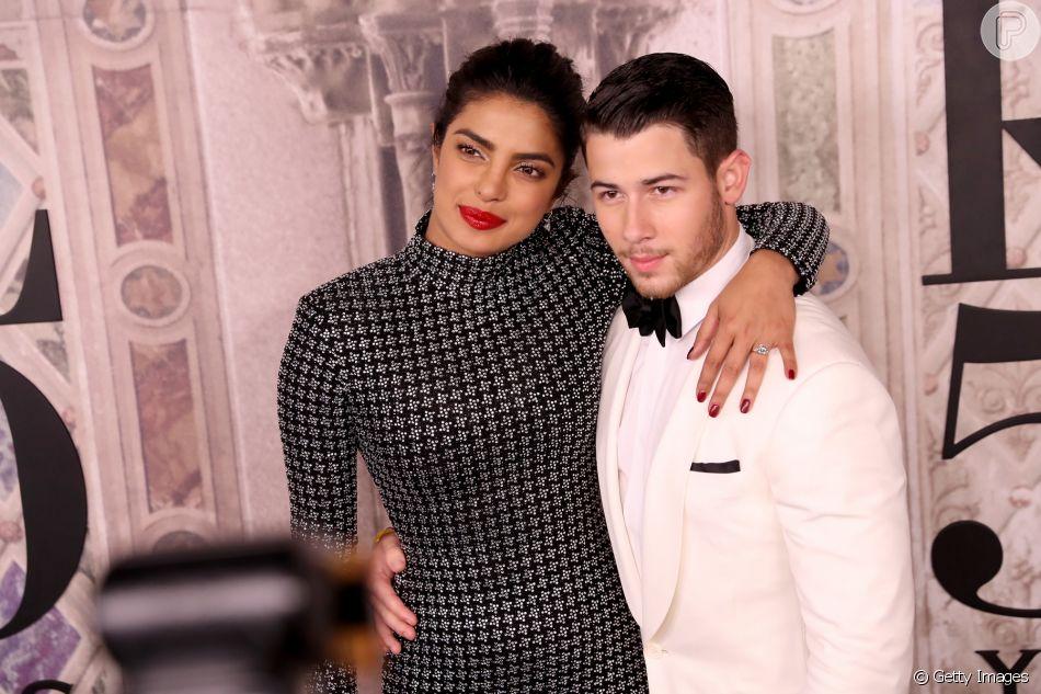 Nick Jonas e Priyanka Chopra fazem cinco dias de casamento na Índia, em 4 de dezembro de 2018