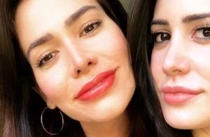 Adriana Sant'Anna exibe lábios volumosos após micropigmentação. Vídeo!