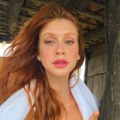 Marina Ruy Barbosa posta 'selfie matinal' e famosas elogiam: 'Surra de beleza'