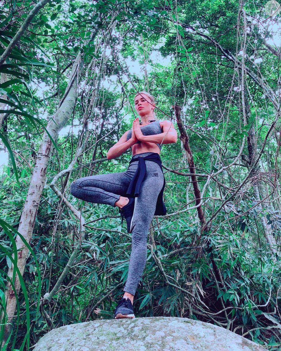 Grazi Massafera iniciou a prática de yoga há quatro meses para desacelerar