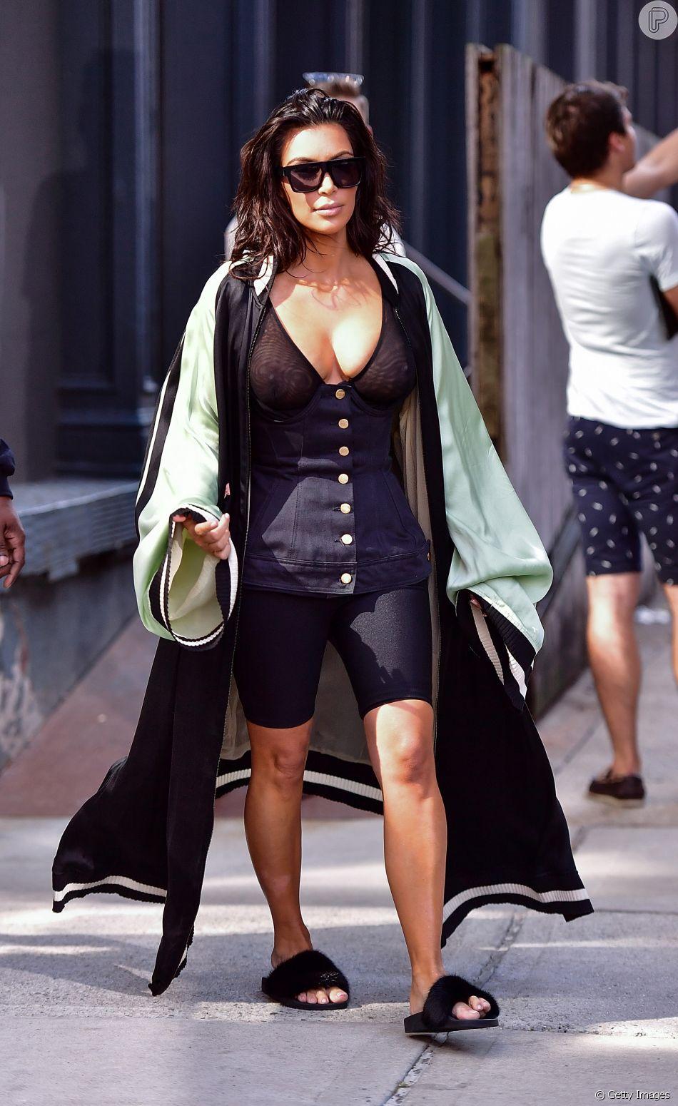Kim Kardashian: a primeira trendsetter a aderir à moda