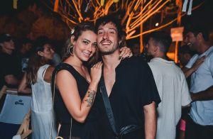 Mãe de Davi Lucca, Carol Dantas curte festa em Noronha com o namorado. Foto!