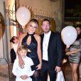 Filho de Neymar, Davi Lucca se despediu do pai e foi ao encontro da mãe, Carol Dantas, em Fernando de Noronha