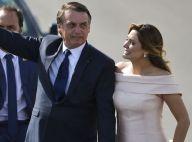 Vestido rosé de Michelle Bolsonaro na posse será leiloado. Veja mais sobre look!
