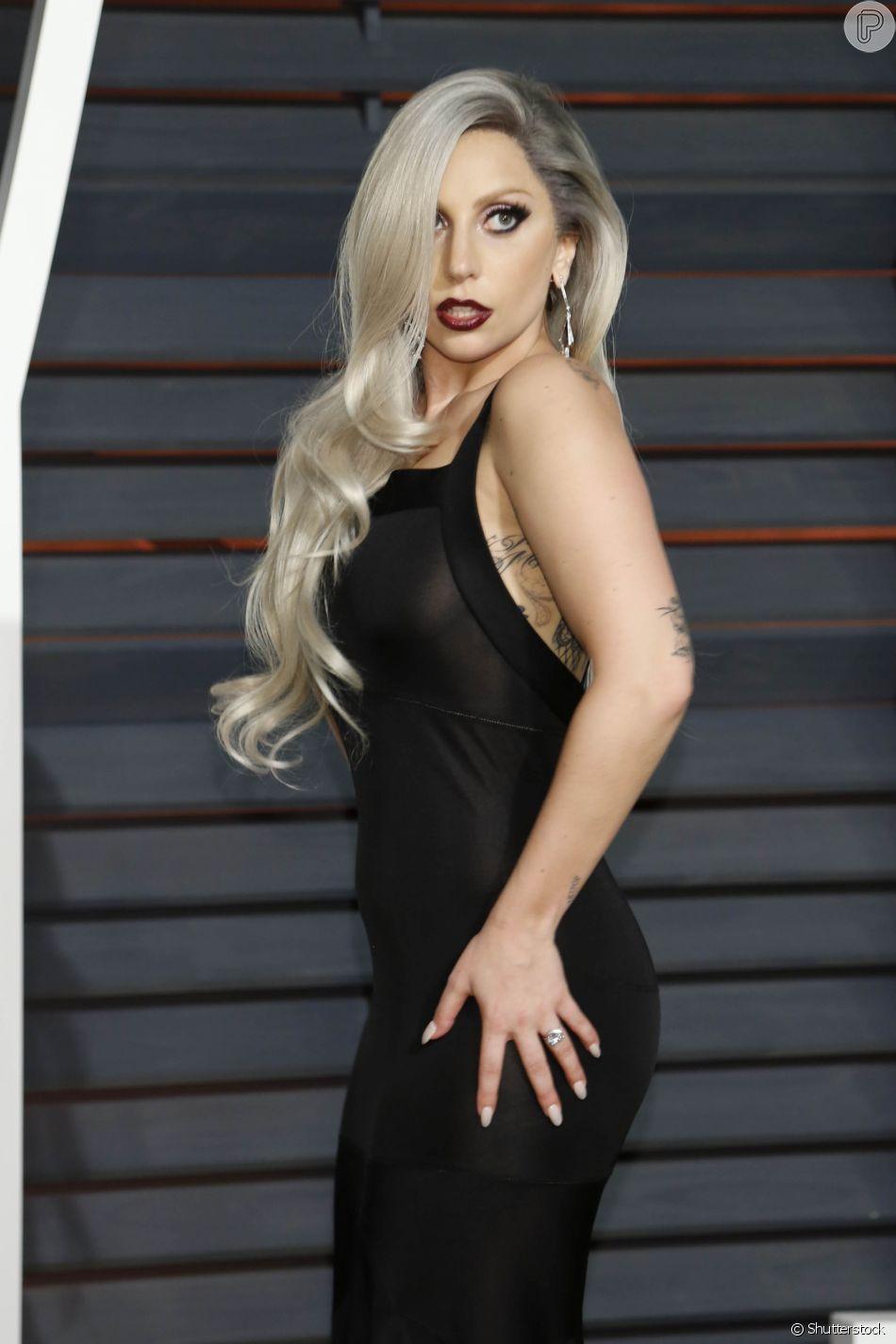 Lady Gaga Na Vanity Fair Oscar Party 2015 Em 22 De Fevereiro De 2015 Purepeople