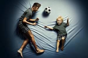 Neymar faz primeira campanha publicitária ao lado do filho, Davi Lucca