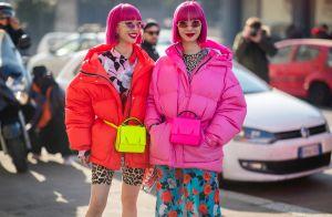 Trends do street style direto da Fashion Week de Milão! Veja fotos.