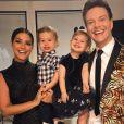 Thais Fersoza fez homenagem para o marido em foto com filhos: 'Melinda e Teodoro têm muita sorte em ter um exemplo tão íntegro como pai!'