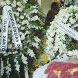 Silvio Santos enviou coroa de flores para Wagner Montes. Apresentador trabalhou no SBT por mais de 17 anos