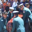 Corpo de Wagner Montes deixou a Assembleia Legislativa do Rio e partiu para a cremação