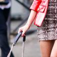 Animal print: estampa de cobra é tendência na moda! A bolsa de corrente dá um status ainda mais elegante ao look.