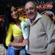 Aline Riscado era a professora de Luís Carlos Miele no quadro 'Dança dos Famosos'