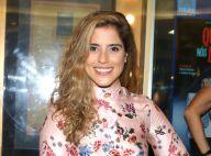 Grávida, Camilla Camargo chora ao ver filme de Larissa Manoela na TV. Vídeo!