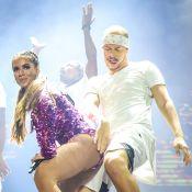 Anitta protagoniza clipe de DJs em festival e comemora: 'Lancei música nova'