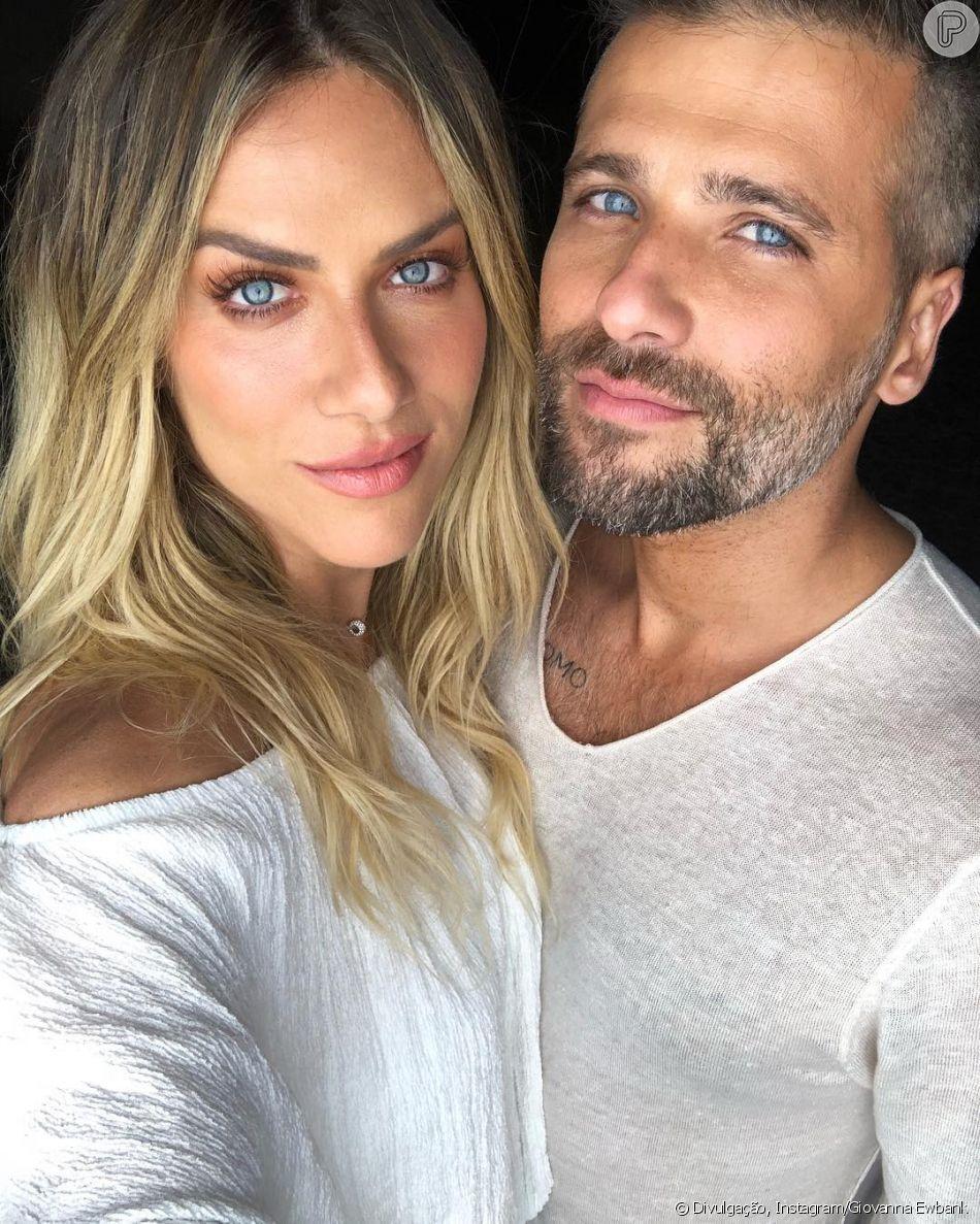 Bruno Gagliasso se declara para Giovanna Ewbank nas redes sociais