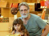Criança de novo! Aos 67 anos, Herson Capri brinca com filha caçula de 4
