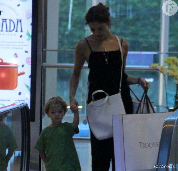 Filho de Sophie Charlotte, Otto, de 2 anos, gerou comentários na web