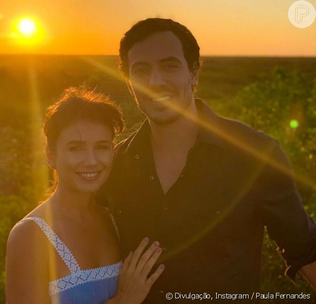 Paula Fernandes negou gravidez do namorado, Gustavo Lyra, após viagem do casal