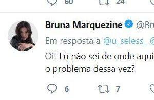 Bruna Marquezine discute com fãs no Twitter, bloqueia e apaga posts. Entenda!