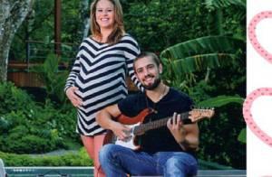Rafael Cardoso aguarda o nascimento da filha e avisa: 'Vou querer mais cinco!'