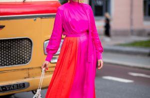 Deu match na moda! 10 fotos de looks que combinam cores vibrantes