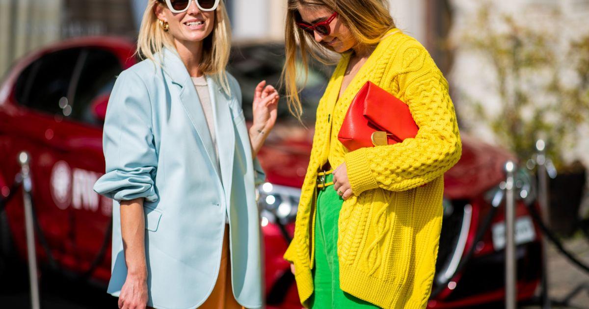 Tendência com estilo  fotos e dicas de como misturar cores vibrantes no  look - Purepeople bae6f435bb3