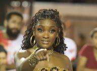 Erika Januza usa vestido animal print para ensaio de carnaval: 'Soltar as feras'