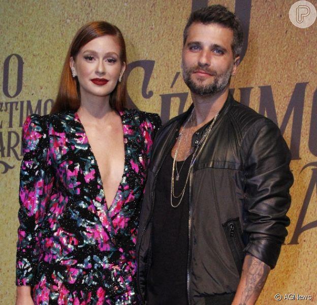 Marina Ruy Barbosa e Bruno Gagliasso não batem mais os textos juntos e só se veem nas gravações da novela 'O Sétimo Guardião'