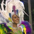 Renata Kuerten desfilará no Carnaval do Rio como musa da  Grande Rio no domingo (03), entre 23h25 e 00h44