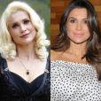 Flavia Alessandra já ficou loira platinada para viver personagem vilã em novela na TV Globo. Atualmente, a atriz está com os cabelos castanhos e mechas sutis