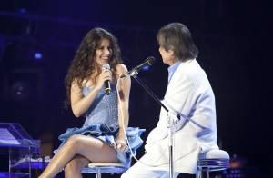 Paula Fernandes explica falta de Roberto Carlos em CD: 'A gravadora não liberou'