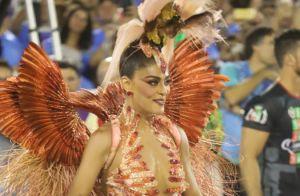 Juliana Paes entrega cardápio após desfile de carnaval: 'Comi frituras e risoto'