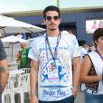 Enzo Celulari também marcou presença na apuração do Rio de Janeiro