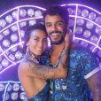 Casal sucesso do reality 'De Férias com o Ex', Ana Clara e André Coelho curtiram o Nosso Camarote, na Marquês de Sapucaí, na noite desta quarta-feira, 06 de março de 2019