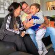 Simone e Kaká Diniz são pais do pequeno Henry, de 4 anos