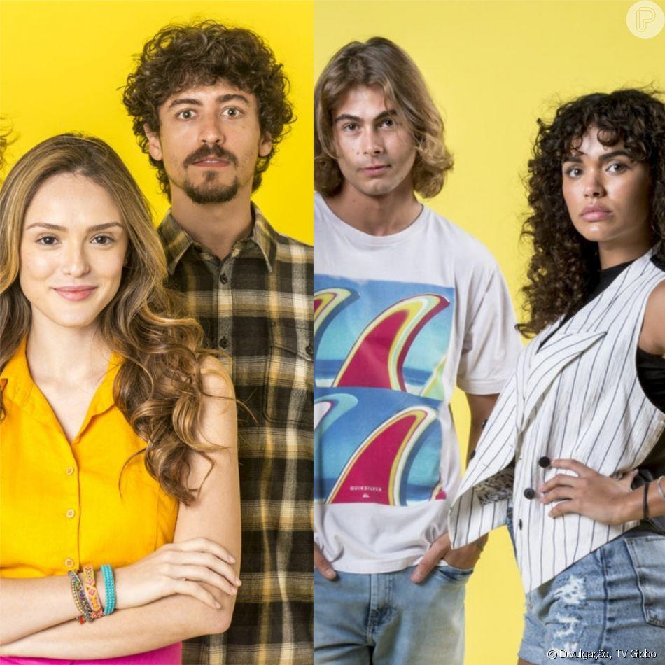 Manu (Isabelle Drummond) e Jerônimo (Jesuíta Barbosa) e João (Rafael Vitti) e Moana (Giovana Cordeiro) vão formar novos casais nos próximos capítulos da novela 'Verão 90'